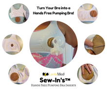 Load image into Gallery viewer, SewIn™ DIY Pumping Bra Conversion Kit - LactaMed