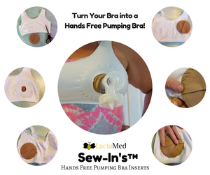 SewIn™ DIY Pumping Bra Conversion Kit - LactaMed