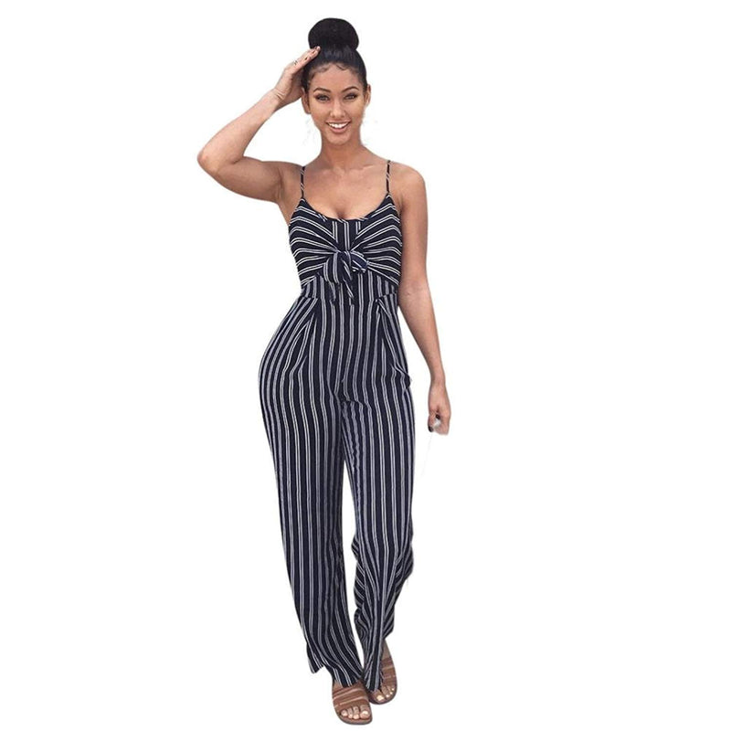 TOOPOOT Women Sexy Cold One Shoulder Bodycon Evening Party Long Jumpsuits
