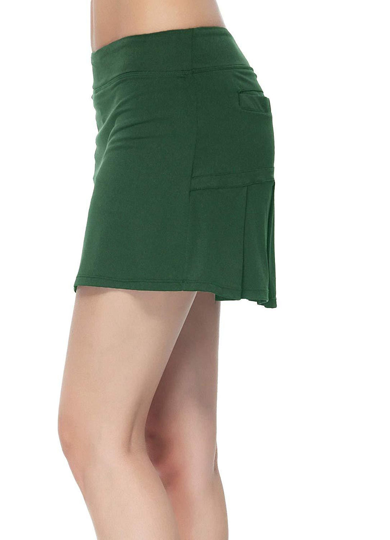 HonourSport Women Workout Active Skorts Golf,Tennis Running Skirt Pleated,Athletic Lightweight Casual Dress with Pockets