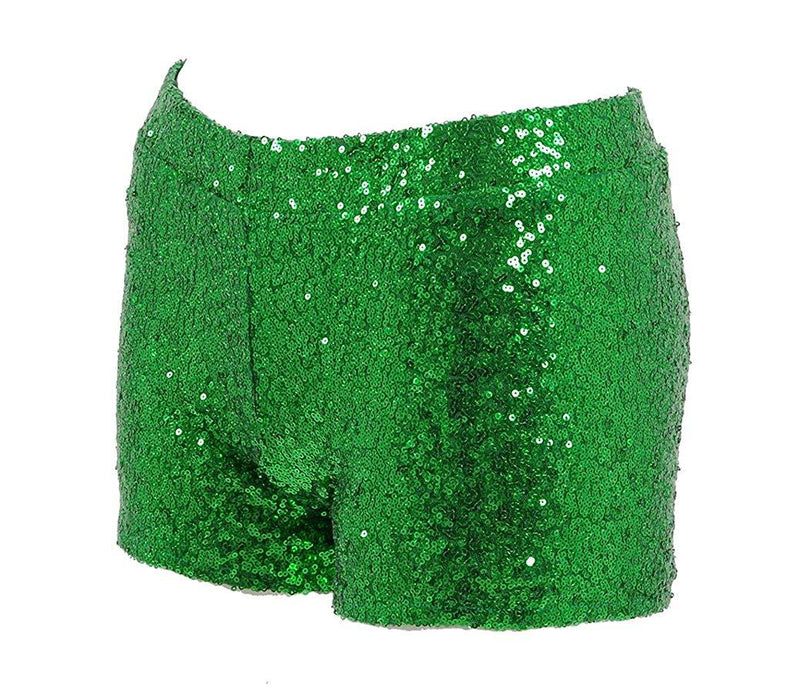 Very Last Shop Women Sexy Hot Glitter Sequin Shorts Summer Club Wear Multi-Color 1