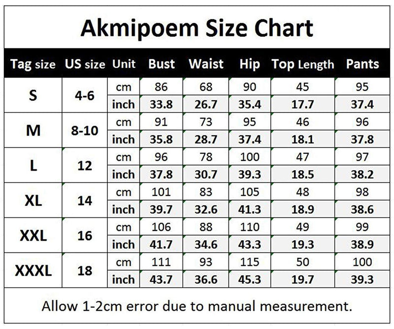 Akmipoem Women's Letter Print 2 Piece Outfits Short Sleeve Tops and Skinny Pants Tracksuits Set