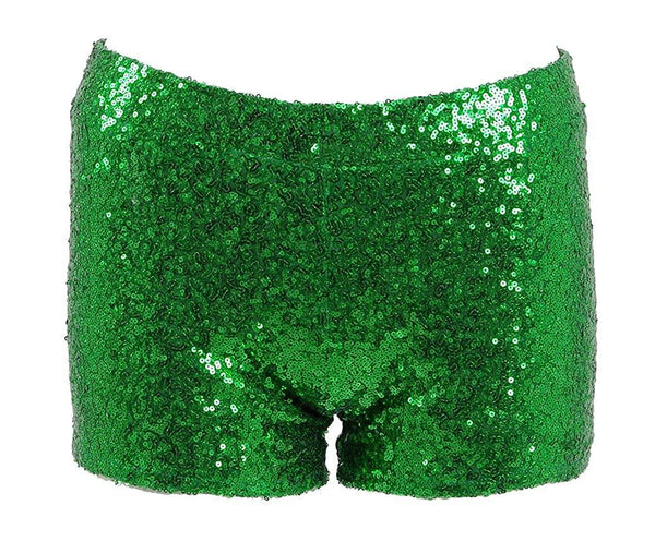 Very Last Shop Women Sexy Hot Glitter Sequin Shorts Summer Club Wear Multi-Color