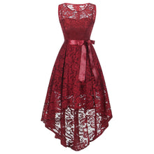 Embroidery women dress Womens Sleeveless Formal autumn dress Ladies Wedding Bridesmaid Lace Long maxi Dress