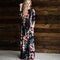 Floral Bohemian Maxi Dress 2018 Autumn Fashion Long Sleeve Tunic Women Summer Beach Dresses Longo Boho Chic Plus Size 3XL