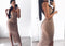 Garden New Sexy Dress Club Wear Ruched Sheer Maxi Dress Women Elegant Summer Dress Long Bodycon Dreeses Vestido De Festa