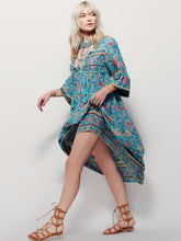 BOHO PEOPLE Plus Size Bohemia Maxi Dress 2018 New Arrival V Neck Botanic Floral Dress Ethnic Gypsy Style Hippie Vestido Women XL