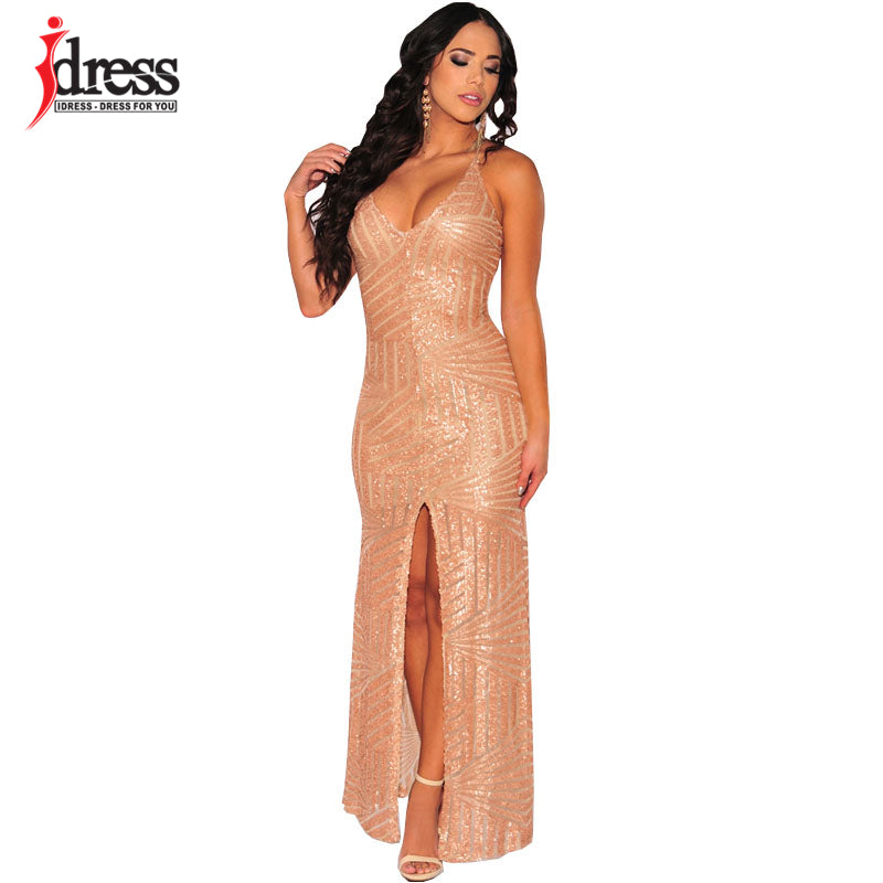 Elegant Fishtail Lace Patchwork Long Dress Strapless Floor Length Sequin Maxi Dress New Women Sexy Prom Party Dress