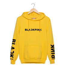 KPOP Korean Fashion Blackpink JISOO Jennie Kim Rose LISA JAPAN Cotton Hoodies Hat Clothes Pullovers Sweatshirts PT641
