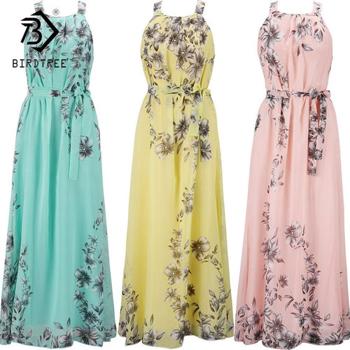 c6af4fd721427 Plus Size S-6XL 2019 Summer New Women Long Dresses Beach Floral Print Boho  Maxi