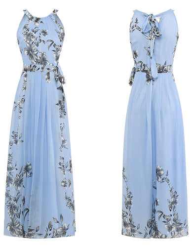 f3772ca8f711 Plus Size S-6XL 2019 Summer New Women Long Dresses Beach Floral Print Boho  Maxi