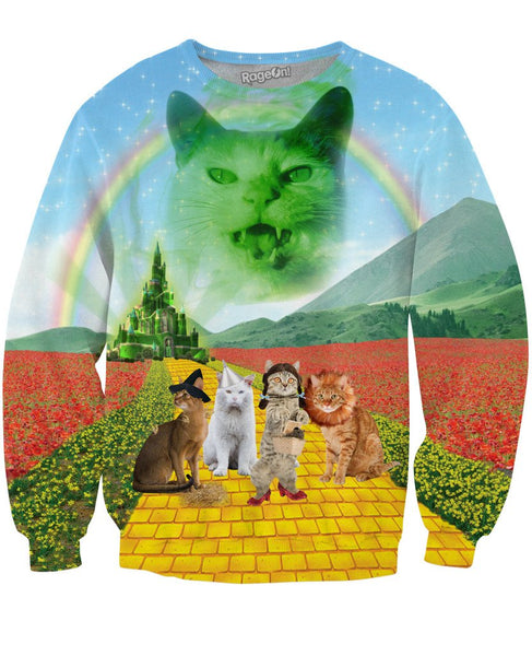Wizard of Cats Sweatshirt