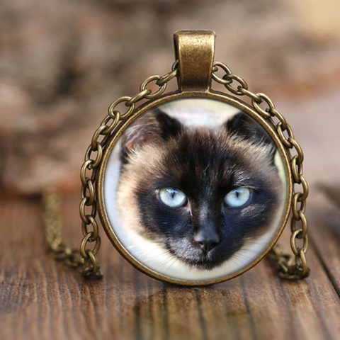 Siamese Cat Necklace