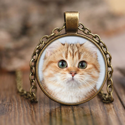 American Shorthair Cat Necklace