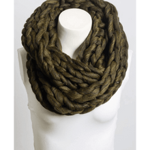 Ultra-Soft Charcoal Chunky Infinity Scarf,,[product_vender],Mindful Bohemian