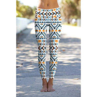 Etno Chic Printed Yoga Leggings -  Free People - Bohochic - Music Festival