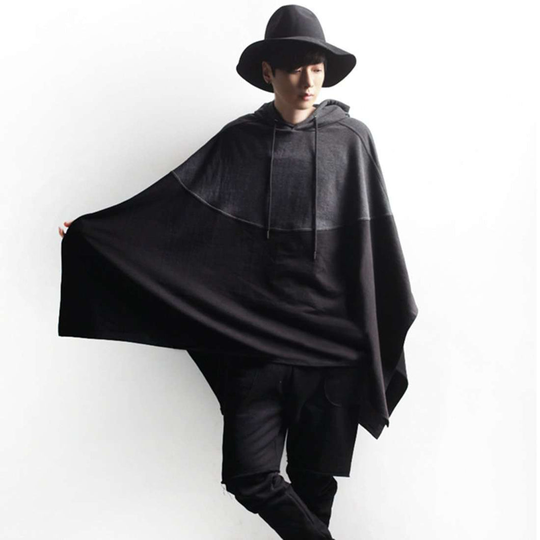 Winter Men's Bohemian Assassin's Poncho,mens,Mindful Bohemian,Mindful Bohemian