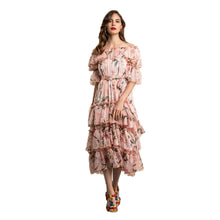 Bella Layered Midi Dress