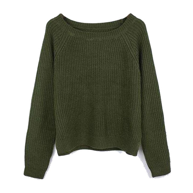 Cozy Crop Knitted Sweater