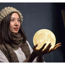 Enchanting 3D Moon Lamp -  Free People - Bohochic - Music Festival