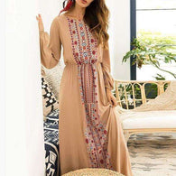Floral Boho Long Dressdress