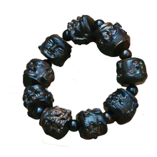 Hand Carved Sandalwood Buddha Beads