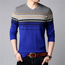 Homme Multi-Striped Pullover