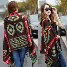 Hooded Ponchowinter