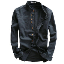 Men's Casual Buttoned Long Sleeves