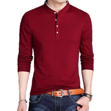 Men's Modern Henley Long Sleeves