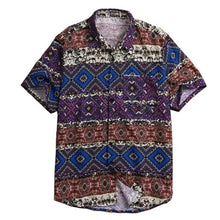 Mens Plus Size Tropical Shirt