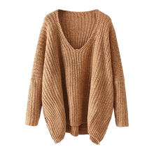 Oversized Batwing Sweater