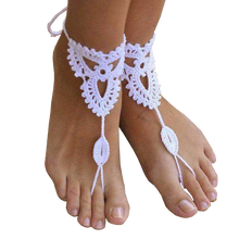 Purity Rope Anklet Sandals