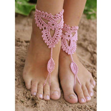 Purity Rope Anklet Sandals,sandals,Bohemian Luxury,Mindful Bohemian