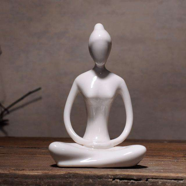 The Modern Yoga Lady,figurine,Mindful Bohemian,Mindful Bohemian