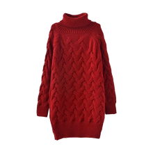 Turtleneck Knitted Pullover