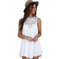 White Boho Princess Top