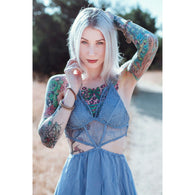 Gypsy Lace Dress -  Free People - Bohochic - Music Festival