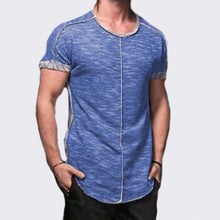 Men's Casual Slim-fit Stitching Top