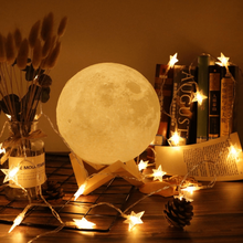 Enchanting 3D Moon Lamphome decoration
