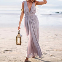 Heidi Pleated Beach Maxi