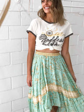 The Great Goddess of Rock Top Skirt