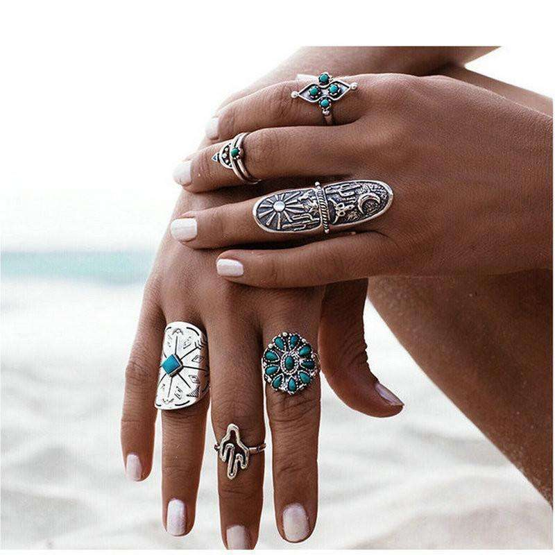 SouthWestern Ring Set - Mindful Bohemian