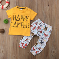 Happy Camper Baby Set