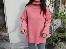 Knitted Turtleneck Pullover