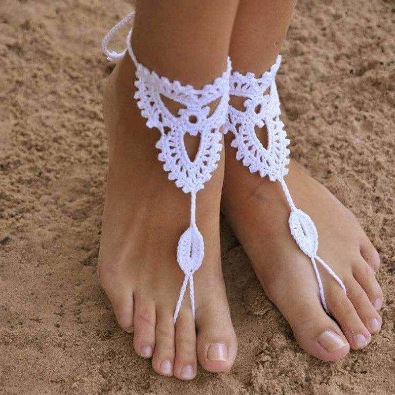 Purity Rope Anklet Sandals - Mindful Bohemian