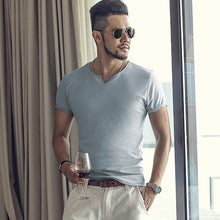 Slim Fit Men's Short Sleeves