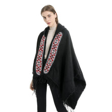 Vintage Hooded Poncho