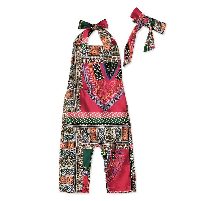 Boho Girl African Jumpsuit