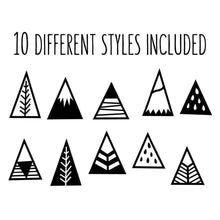 Nordic TeePee Wall Decal,zen den,[product_vender],Mindful Bohemian